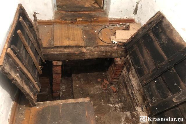 Замурованный труп в подвале